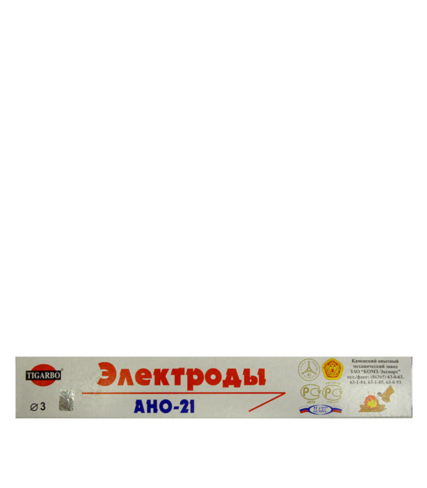 Электроды АНО-21 d3, 1 кг Каменский ОМЗ