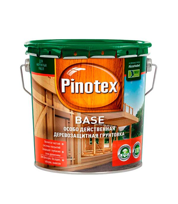 Грунт-антисептик Pinotex Base 2.7 л  пинотекс base грунт 2 7 л