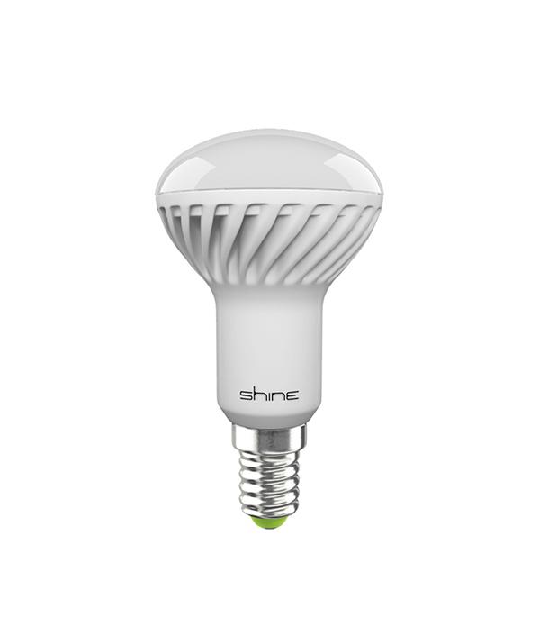 Лампа светодиодная E14,  6W, R50 (рефлектор), 3000K (теплый свет), Shine