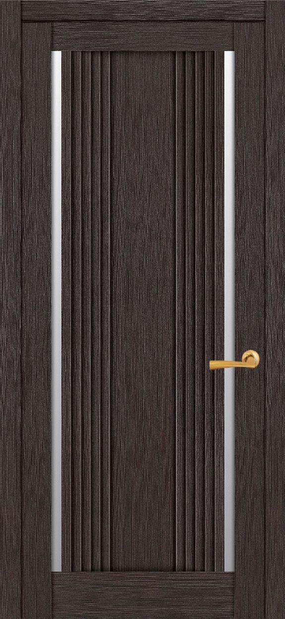 Дверное полотно  экошпон UBERTURE Light 2194 Шоколад  600x2000 мм, без притвора