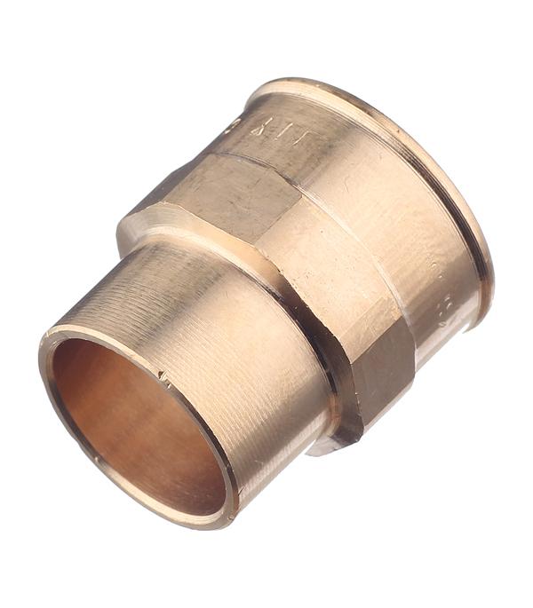 Муфта В-пайка медь 18х1/2 набор кран букс с рукоятками мария пластик 18х1 rus 1 2
