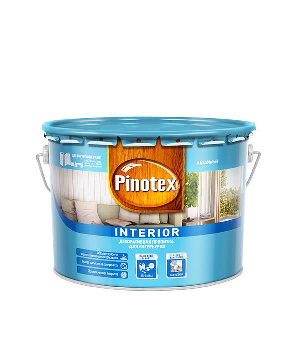 Пинотекс Interior декоративное средство 9 л