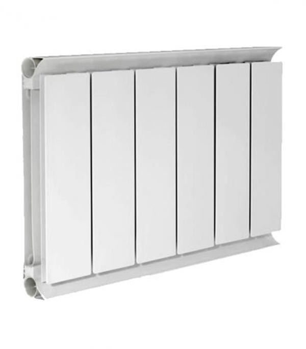 Радиатор алюминиевый  3/4 500,  6 секций купить чугунный радиатор отопления 3 секции
