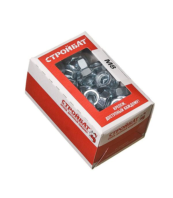 Гайки оцинкованные М8 DIN 934 (100 шт)  гайки оцинкованные м20 din 934 7 шт