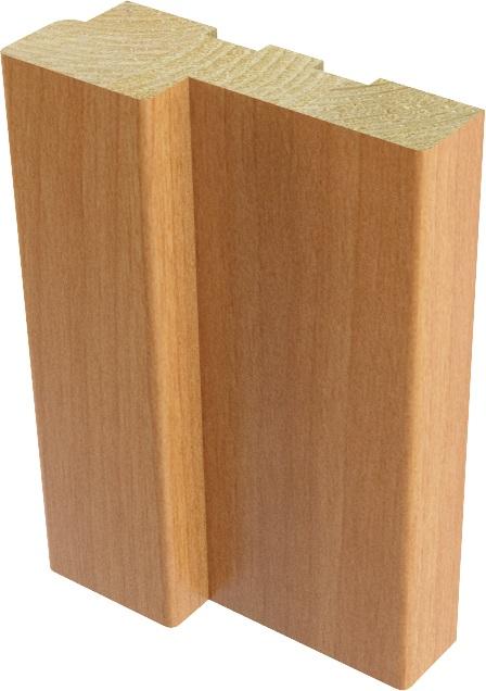 Коробка дверная Миланский орех М8х21 70х26х2040 мм Верда