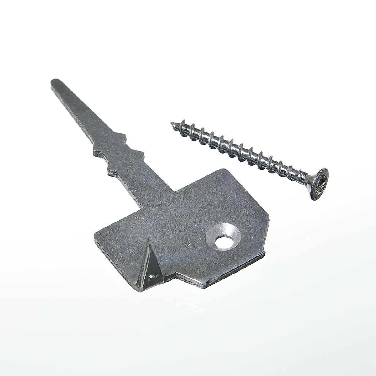 Крепеж для террасной доски ГвозDECK Classic (130 шт)