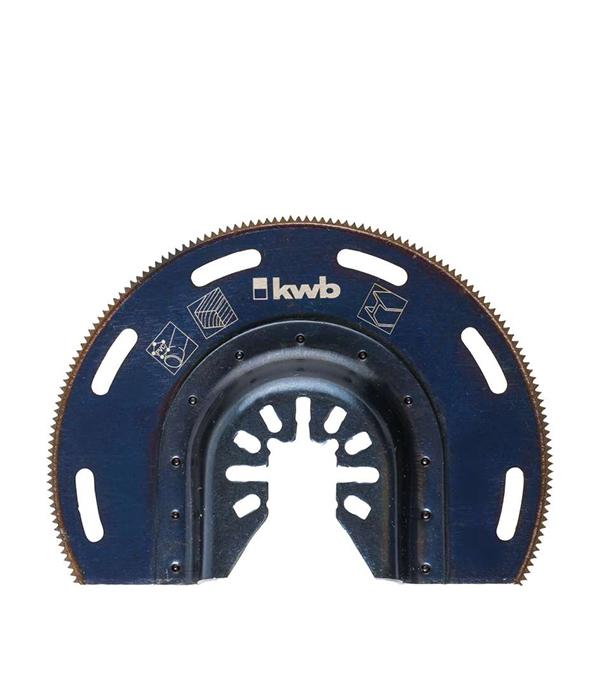 Пильное полотно по металлу KWB Стандарт 87 мм для МФУ пильное полотно по дереву kwb стандарт 25 мм для мфу
