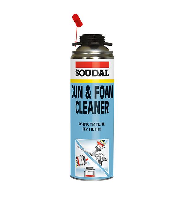 Очиститель пены Soudal 500 мл монтажная пена soudal соудал 750ml