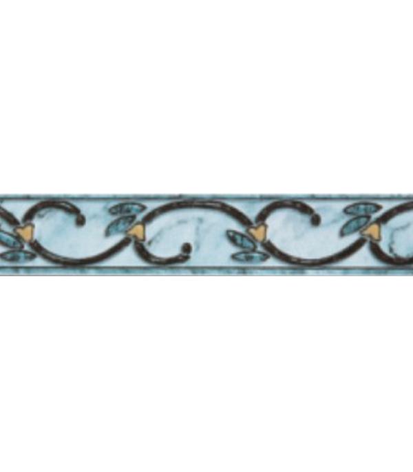 Плитка бордюр 200х33 мм Алтай C синий КПП