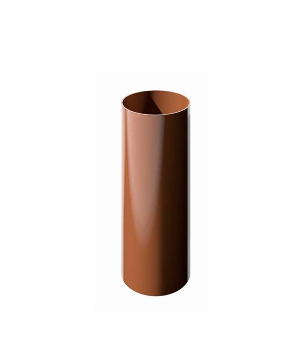 Труба водосточная пластиковая d90 мм коричневая 3 м Технониколь