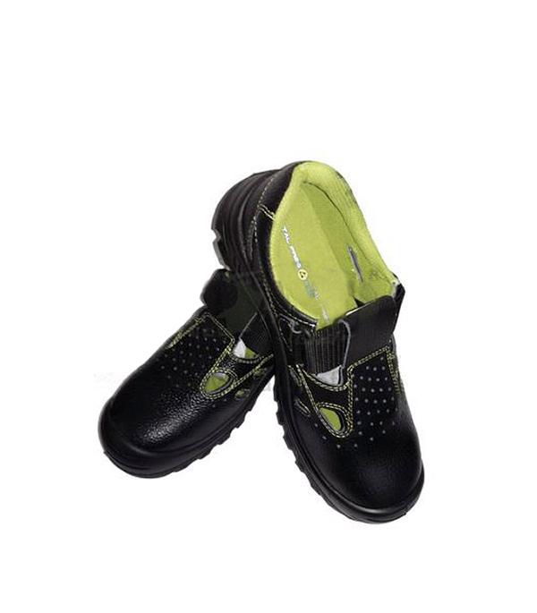 Сандалии кожаные (композитный защитный носок), размер 45