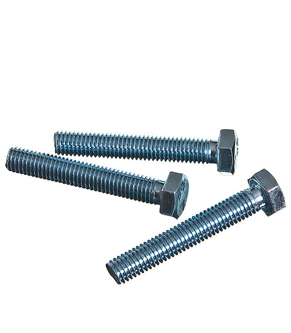 Болты оцинкованные М8х50 мм DIN 933 (3 шт) болты оцинкованные м20х60 мм din 933 8 шт