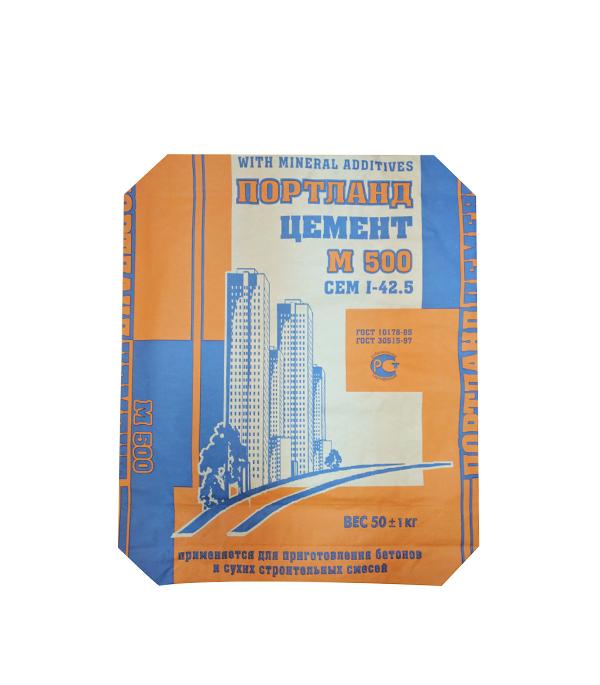 Цемент М500 (ЦЕМ I 42,5) 50 кг купить цемент в самаре дешево