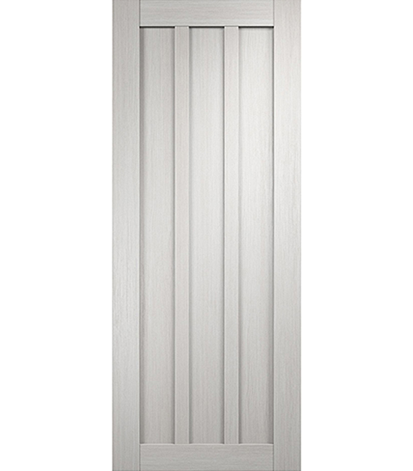 Дверное полотно экошпон Интери 3-0 Белый дуб 700х2000 мм без притвора дверная ручка банан где в санкт петербурге