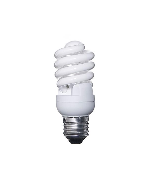 Лампа энергосберегающая E27, 15W, MiniTwist, 2700K (теплый свет), Osram