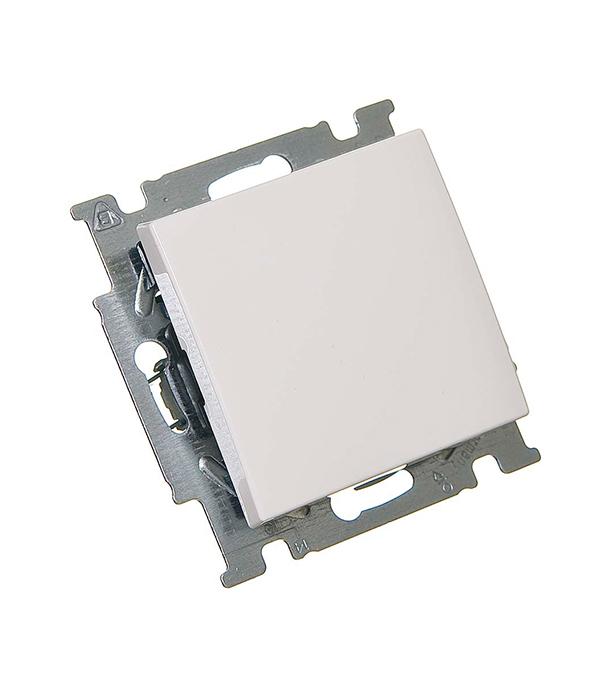 Механизм переключателя одноклавишного с/у АВВ Basic 55 альпийский белый