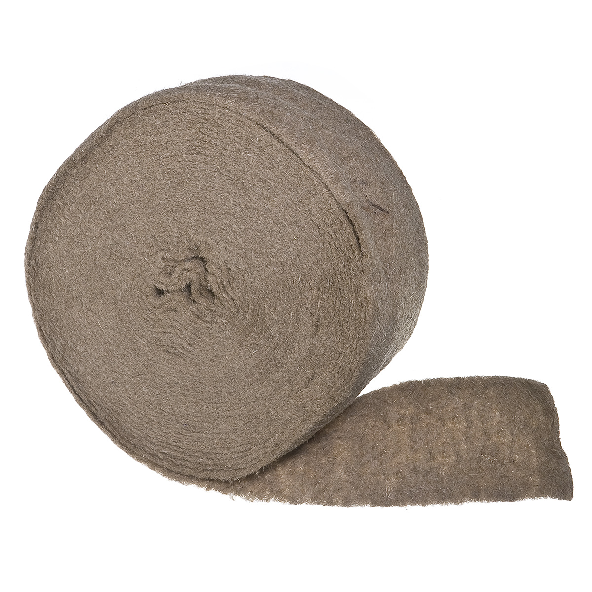 Утеплитель межвенцовый (уплотнитель) джутовый  4-6 мм 0,1х20 м