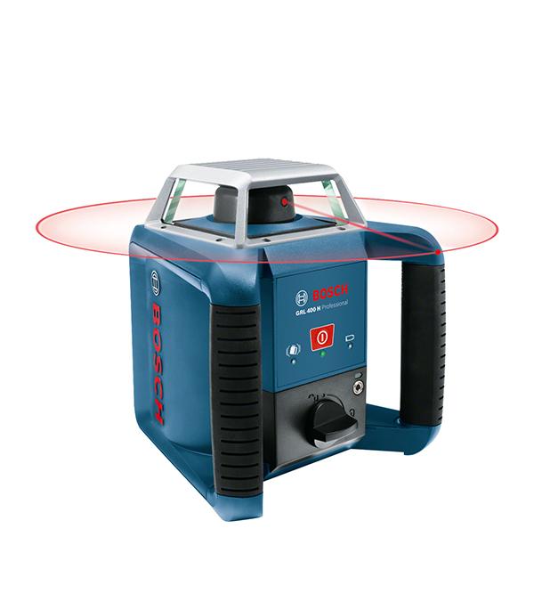 Лазерный нивелир Bosch GRL 400 H Set приемник для ротационного лазера bosch lr 0 601 015 400