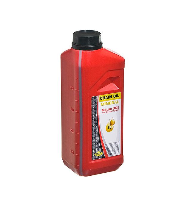Масло для смазки цепи 1л DDE гидравлическое масло total fluide da 1л