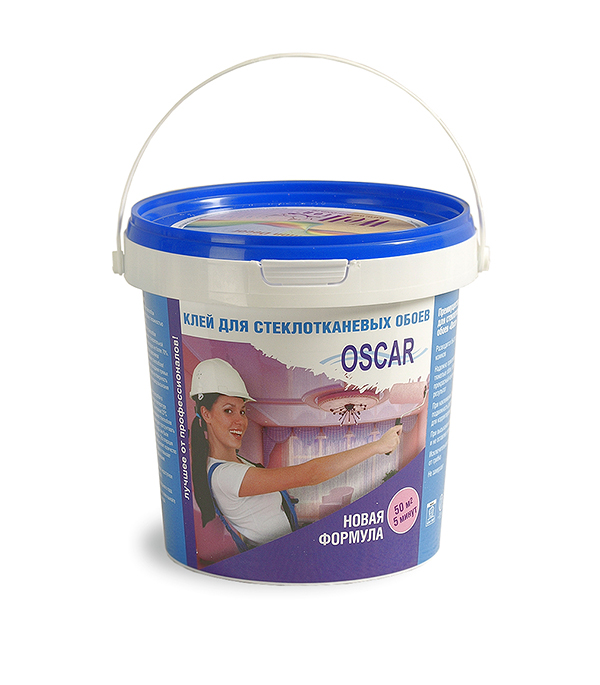 Клей Oscar для стеклообоев 400 г сухой складной стол для наклеивания обоев