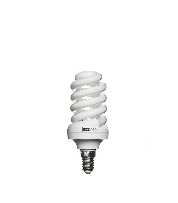 Лампа энергосберегающая  E14 15W SF ЭКО 4000K Jazzway