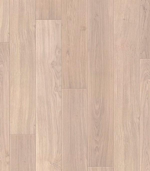 Ламинат 32 класс Quick Step Perspective доска дубовая светло-серая лакированная 1,507 кв.м 9,5мм