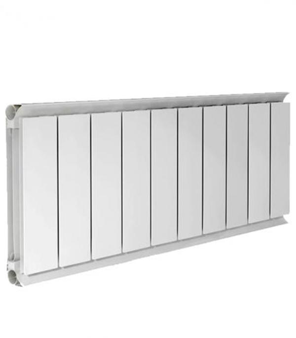 Радиатор алюминиевый  3/4 500, 10 секций купить чугунный радиатор отопления 3 секции