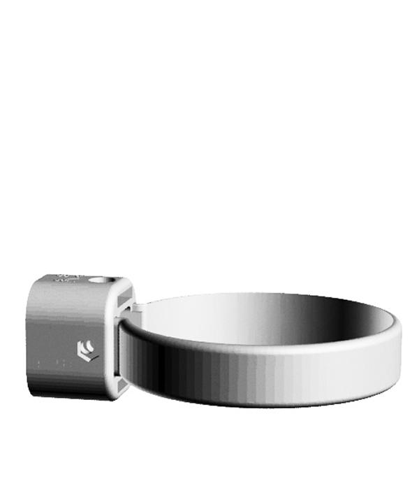 Хомут трубы пластиковый d100 мм универсальный пломбир, DOCKE LUX заглушка желоба пластиковая универсальная пломбир docke lux