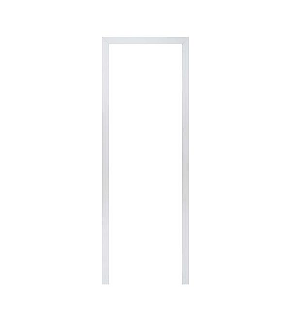 Наличник МДФ окрашенный белый 70х10х2200 мм арка межкомнатная симплекс рено малая мдф набор без отделки