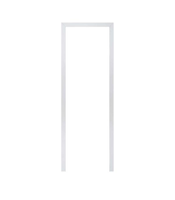 Наличник МДФ окрашенный белый 58х10х2200 мм арка межкомнатная симплекс рено малая мдф набор без отделки
