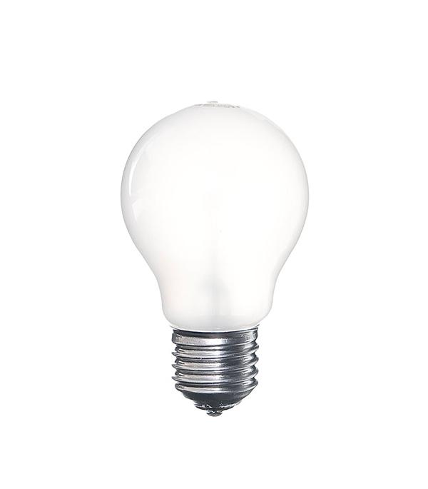 Лампа накаливания E27, 60W, A55 (груша), FR (матовая) Philips