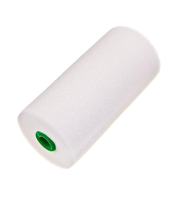 Валик поролоновый Wenzo 100 мм для рукоятки d6 мм рукоятка для валика wenzo 180 мм стальной стержень d8 мм