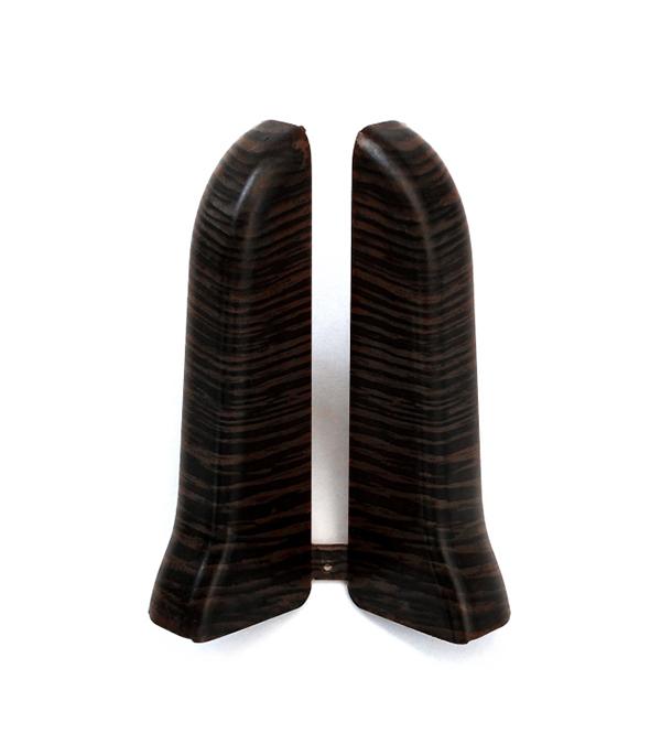 Заглушки торцевые (левая+правая) Венге 67 мм