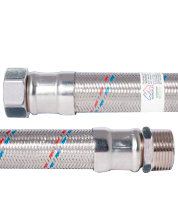 Гибкая подводка для воды 60 см 1 в/н гибкая подводка для воды 1 дюйм в спб