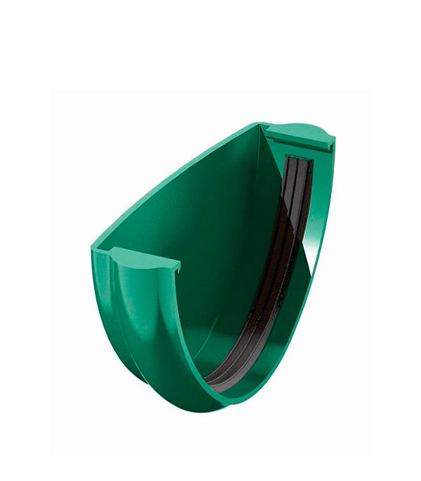 Заглушка желоба пластиковая зеленая Технониколь