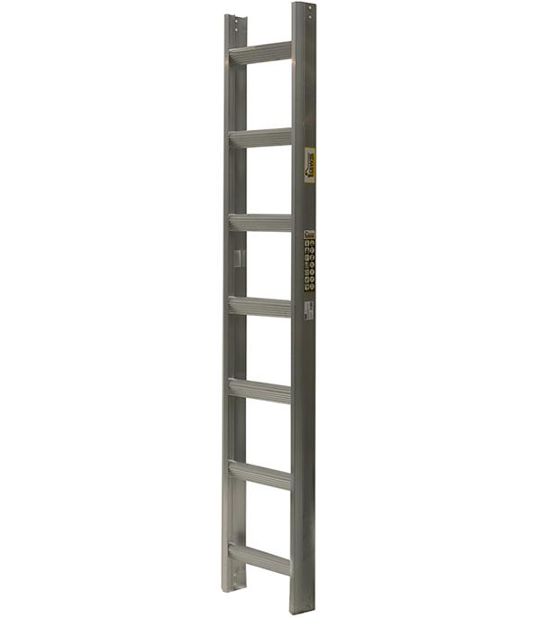 Лестница кровельная алюминиевая 7 ступеней лестница алюминиевая 6 м купить