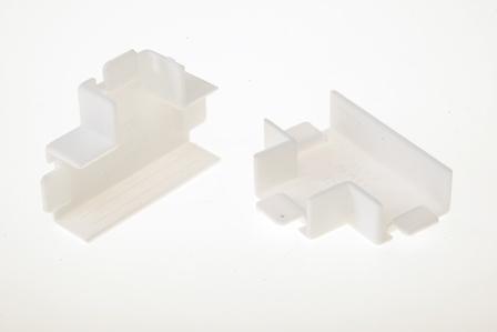 Угол Т-образный для кабель-канала  12x12 мм белый