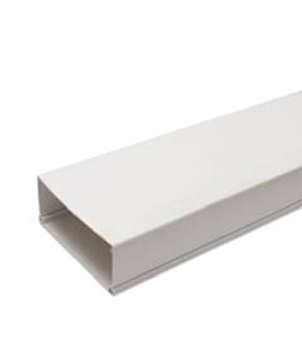 Кабель-канал 100х60 мм белый 2 м плоский угол 100x60 npan dkc 01745