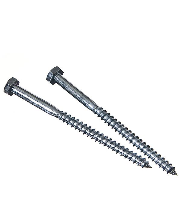 Болты сантехнические оцинкованные 6х90 мм DIN 571 (30 шт) болты сантехнические оцинкованные 6х80 мм din 571 30 шт