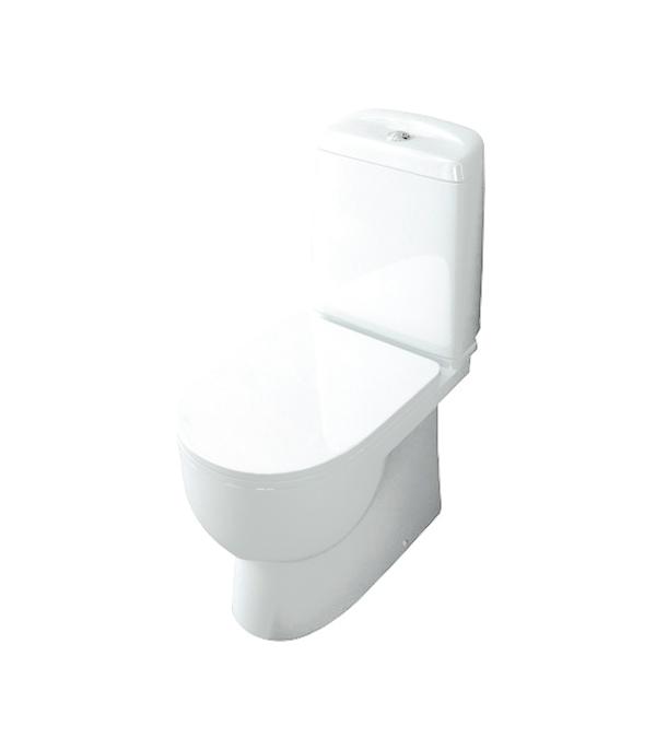 Унитаз-компакт Sanita Luxe Best с горизонтальным выпуском сиденье с микролифтом напольный унитаз sanita luxe infinity
