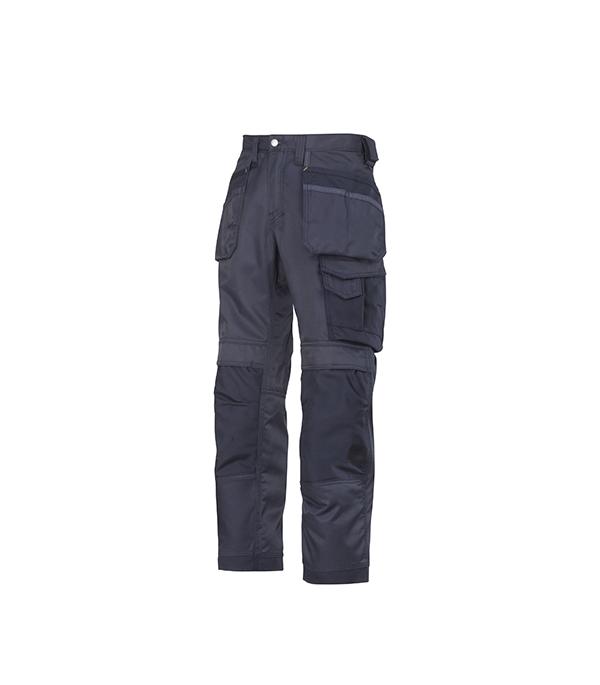 Брюки синие, размер 48, рост 170-182 Snickers workwear Профи