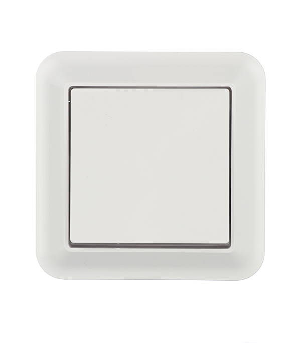Выключатель-переключатель одноклавишный с/у Schneider Electric M-TREND белый