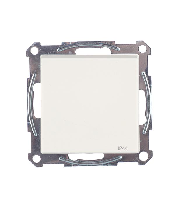 Механизм розетки с/у с заземлением с крышкой Schneider Electric M-TREND белый