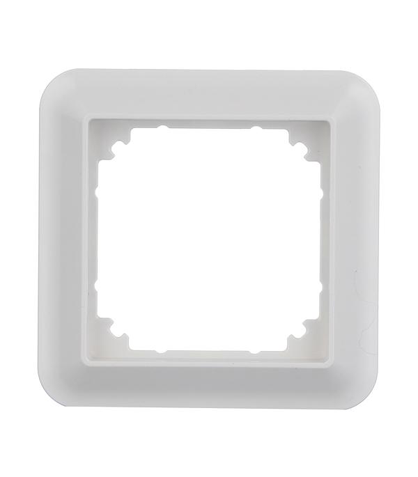 Рамка одноместная Schneider Electric M-TREND белая рамка трехместная schneider electric m trend белая