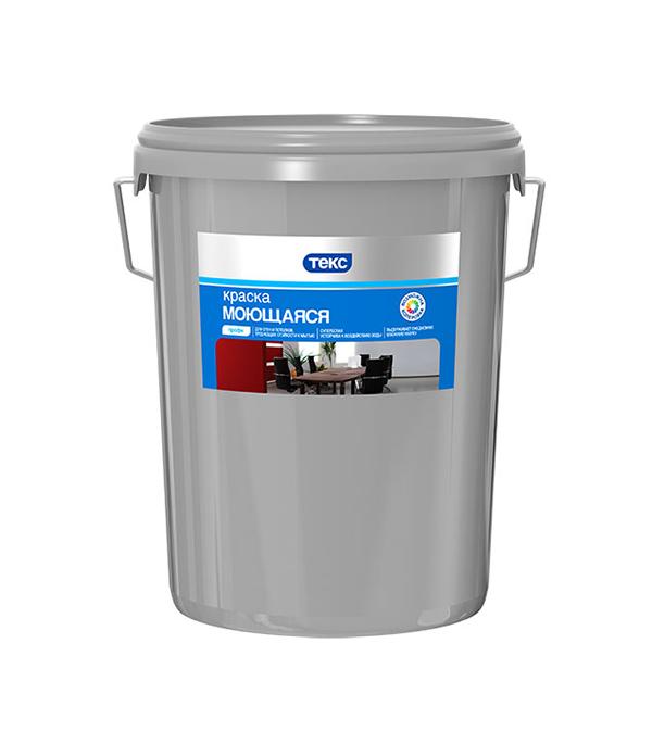 Краска в/д моющаяся Текс профи основа А супербелая 16.2 л / 25.6 кг связь на промышленных предприятиях