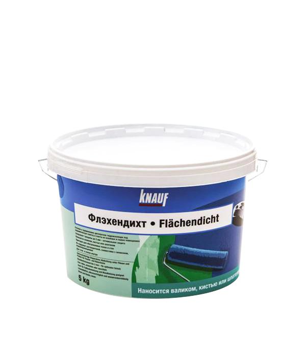 Гидроизоляция Knauf Флэхендихт водная дисперсия 5 кг кровля и гидроизоляция