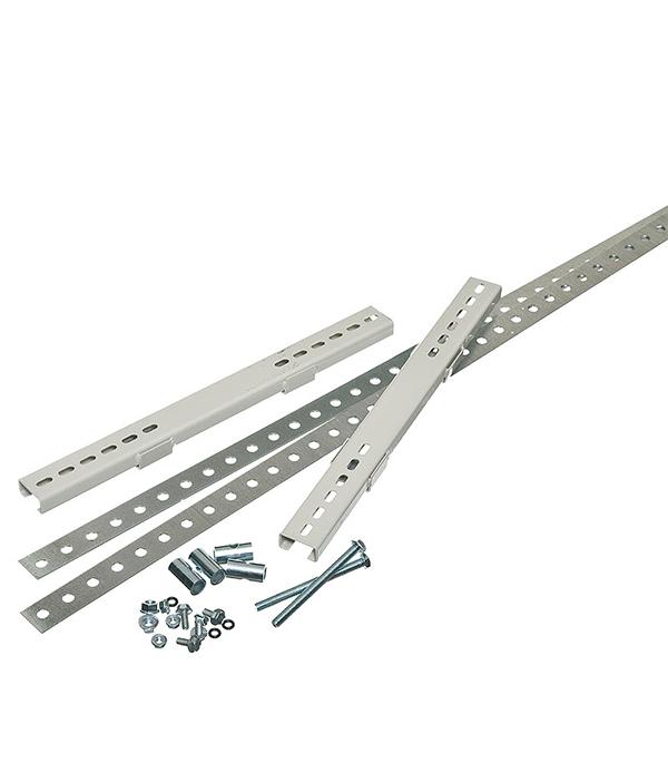 Комплект крепления металлокорпуса IEK YKK-0-125 к столбу монтажной полосой