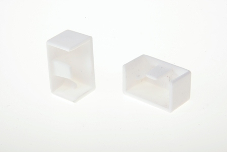 Заглушка для кабель-канала  12х12 мм белая