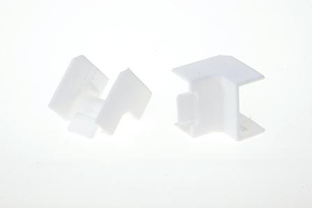 Угол внутренний для кабель-канала  25x25 мм белый
