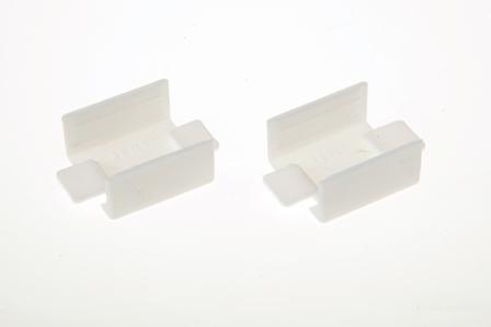 Соединение на стык кабель-канала  40x40 мм белое